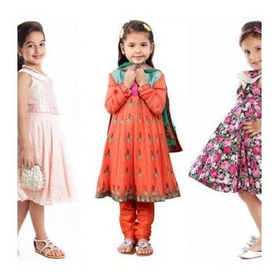 KIDS WEAR at A one Parda&Churidar in Kothamangalam
