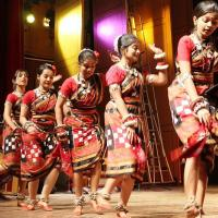 Folk Dance Costume at Varnam Dance Collection in Alappuzha