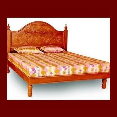WOODEN COT at Royal Furniture in Kottayam