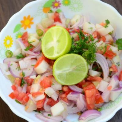Salad at DUBAI MULTI CUISINE RESTAURANT in Kadamattom