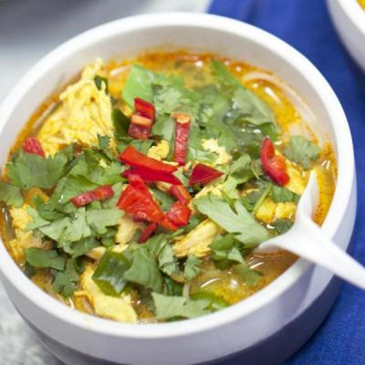 Soup at DUBAI MULTI CUISINE RESTAURANT in Kadamattom