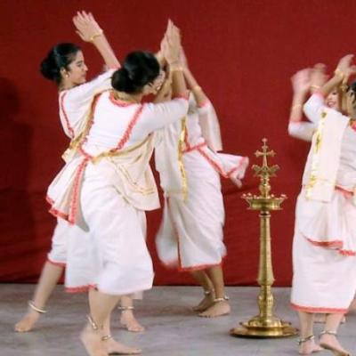 Margamkali Costumes at Surabhi Dance & Drama Collection in Kayamkulam