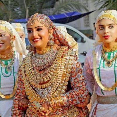 Oppana Costumes at Surabhi Dance & Drama Collection in Kayamkulam