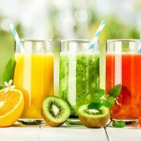 Juices at Cafe Manara in Kothamangalam