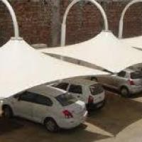 Tensile Car Parking Structure at FabStructure in Mumbai