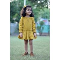 Kids Full Sleeve Cotton Dress at Drape In Vogue in Indore