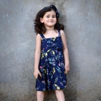 Kids Printed Cotton Dress at Drape In Vogue in Indore
