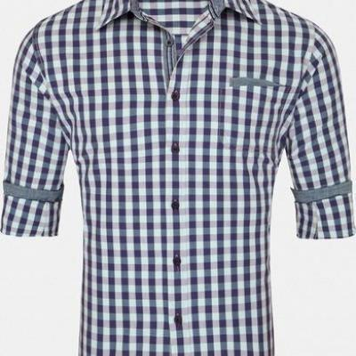 Men's Casual Check Shirt at Shri Anand Co in Ludhiana