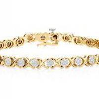 Diamond Bracelet at Glimmer's Impex in New Delhi