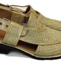 Embroidered Peshawari Chappal at Shri Ganpati International in Ludhiana