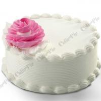 Vanilla cake at Cutie Pie in Thiruvalla