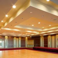 Suspended Ceiling at D'Life Home Interiors in Kottayam