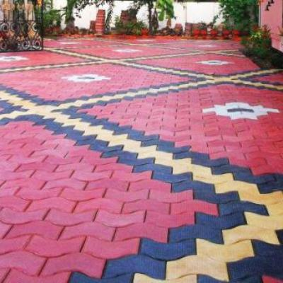 Designer Paving Tiles at Mariya Floor Tiles in Perumbavoor