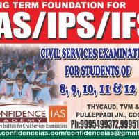 UPSC CIVIL SERVICES REGULAR BATCH at CONFIDENCE IAS ACADEMY in Chengannur