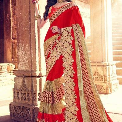 Designer Saree at Mermel Collections in Kothamangalam