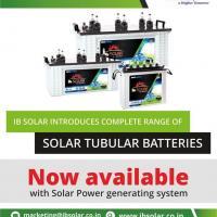 Solar Tubular Batteries Manufacturers in India at IB Solar in Delhi
