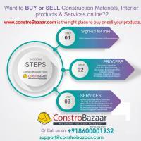 Steel, Cement, Plumbing Material, paints, MCB, Sands at ConstroBazaar Pvt Ltd in pune