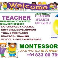 International Montessori Diploma at DIAS World International in Thrissur
