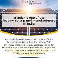 Solar Panel Manufacturers in India at IB Solar in Delhi