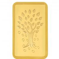 50g Gold Bar 24kt (999.9) - Kalpataru Tree at Kundan Coins and Frames in Delhi