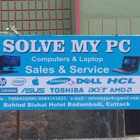 dell lenovo hcl hp apple acre sony at solve my pc in Cuttack
