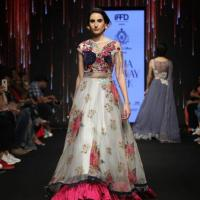 bridle gowns and lehengas at saurabhandshena in new delhi