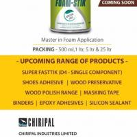 Adhesive Manufactures at Chiripal Industries Limited in Ahmedabad
