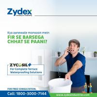 Zycosil+ - Terrace Waterproofing Solutions at Zydex Industries in vadodara
