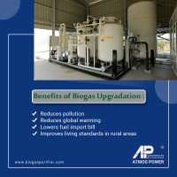 Benefits of Biogas Upgradation at BioGas Purifier in Ahmedabad