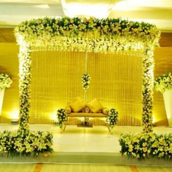 Stage Decoration at Royal Caterers in Kothamangalam