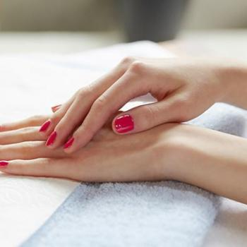 Manicure at Fessy Pink Touch Beauty Parlour in Muvattupuzha