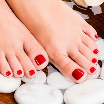 Pedicure at Fessy Pink Touch Beauty Parlour in Muvattupuzha